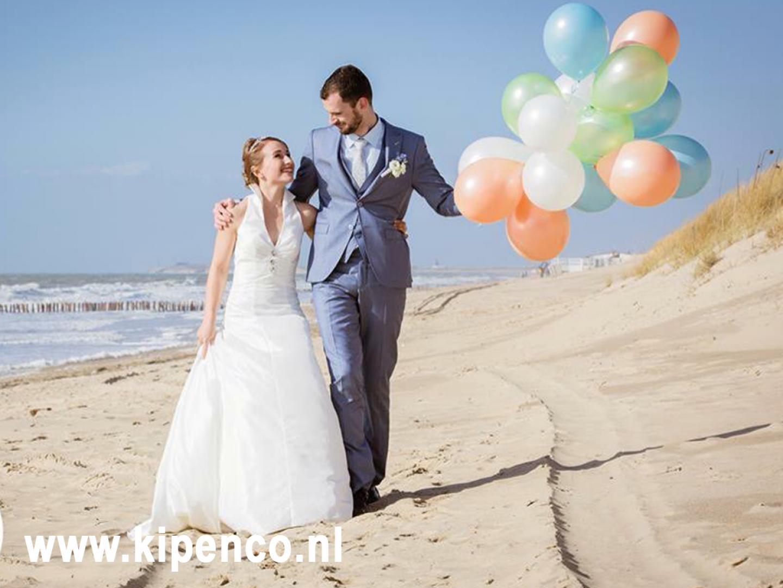 ballonnen huwelijk trouwfeest versiering