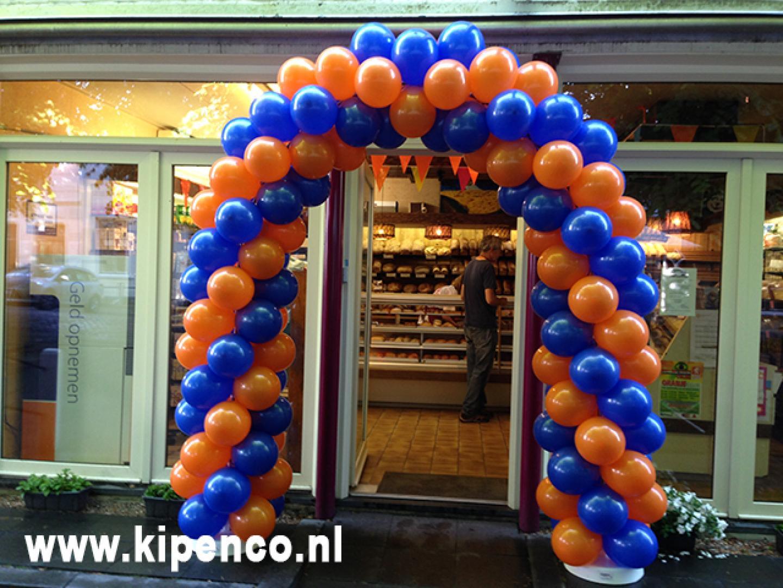 ballonboog decoratie opening
