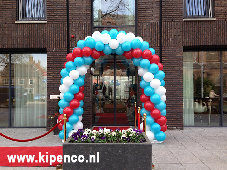 Ballonnenboog 3 kleuren opening feest