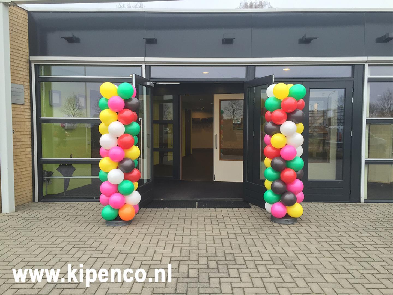 veel kleuren ballonnen