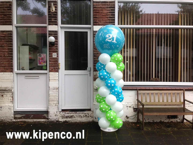 prinsballonnen decoraties verjaardag
