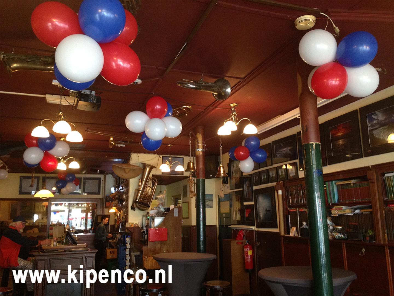 koningsdag ballon nederland feest cafe