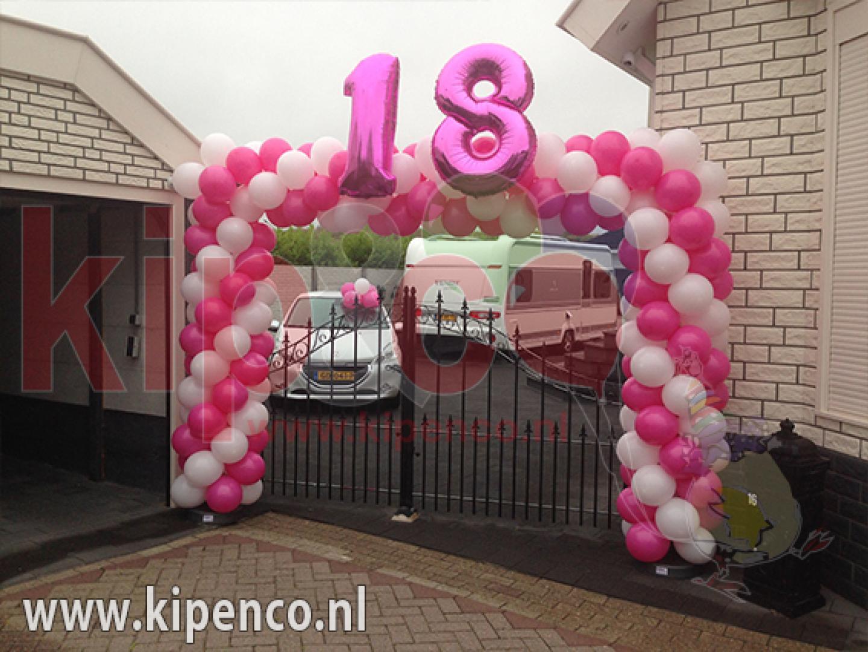 18 verjaardag ballonnen cijfers