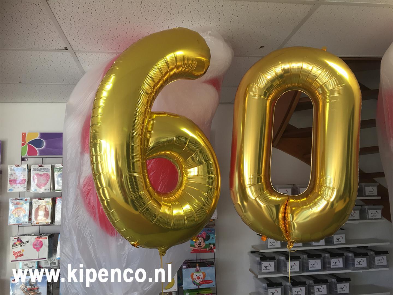 balloncijfer cijferballon