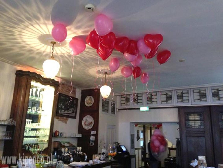 hartballon plafond helium
