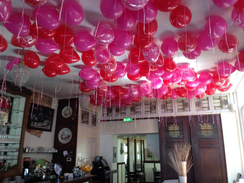 helium ballon huwelijk plafond