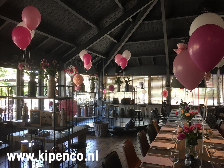 huwelijk ballon bruiloft zaal versiering