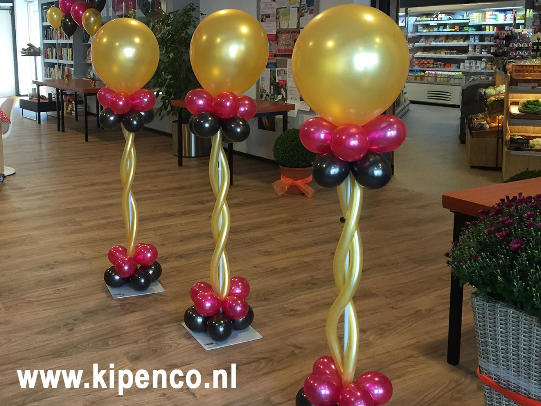 ballon feest pilaar bruiloft