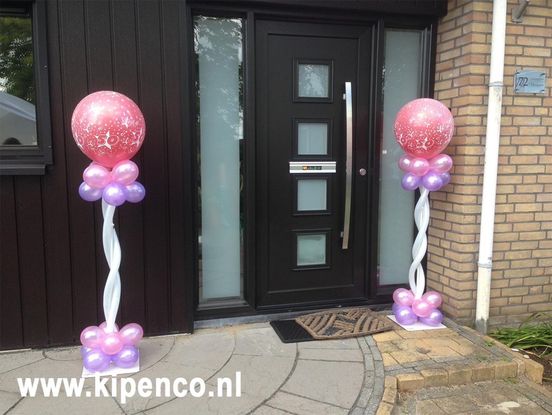 50 verjaardag ballonnen buiten