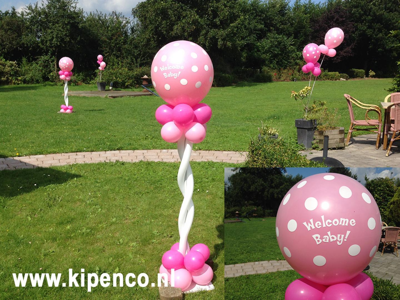 babyshower kraamfeest ballon