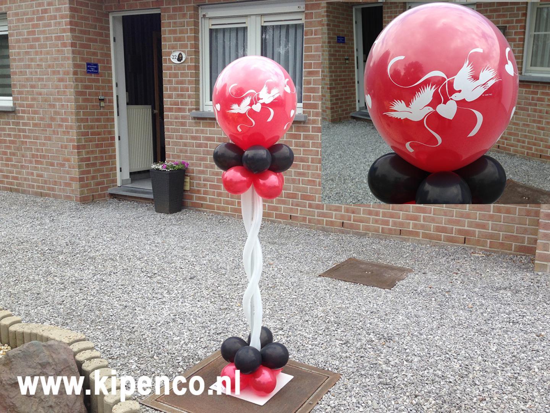 huwelijk bruiloft ballonnen