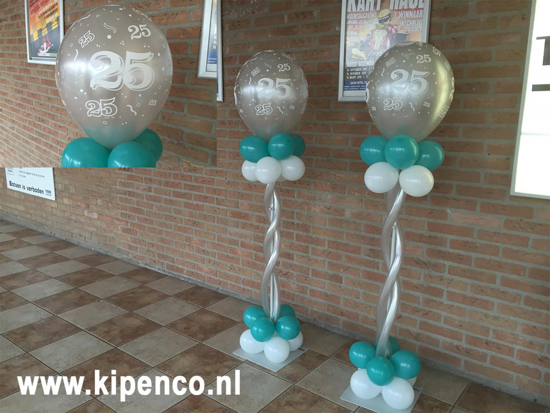25 jarig huwelijk ballon