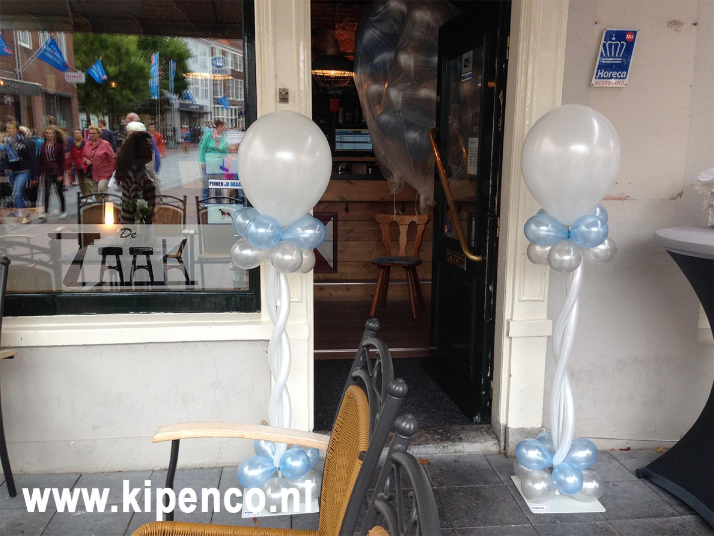 cafe ballon bruiloft