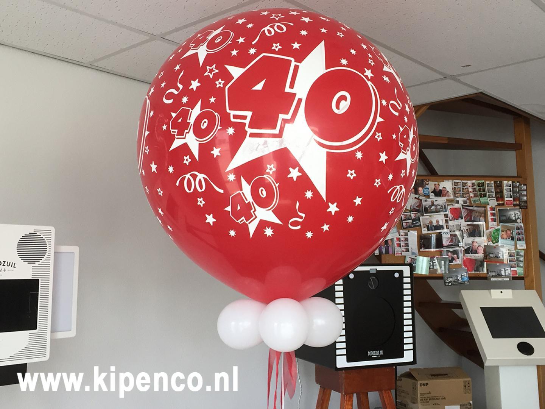 verjaardag ballon 40