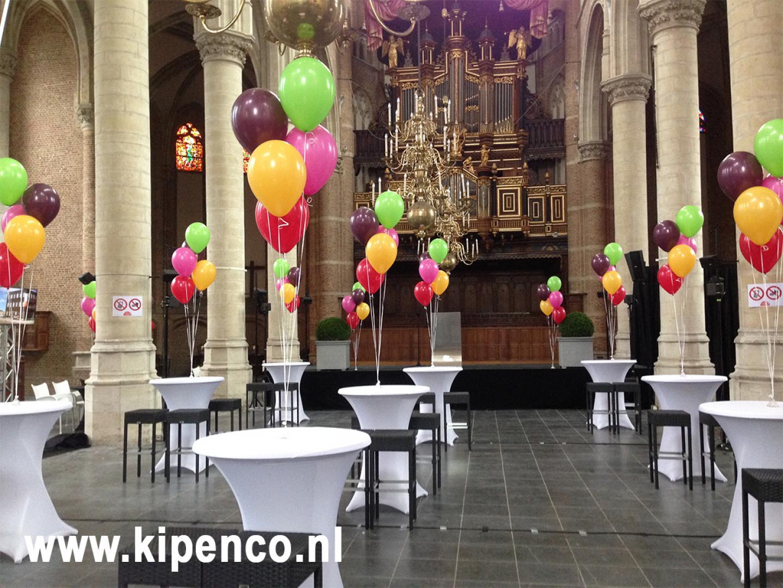 ballon receptie jubileum pensioen