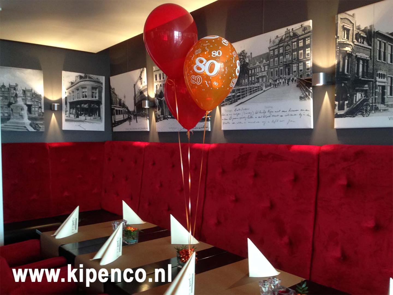 restaurant versiering ballonnen