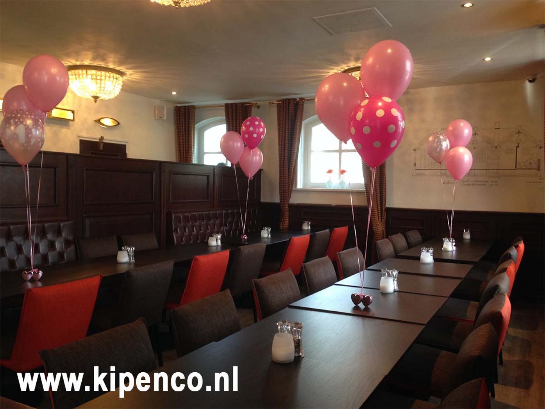 ballon polka dot feest restaurant
