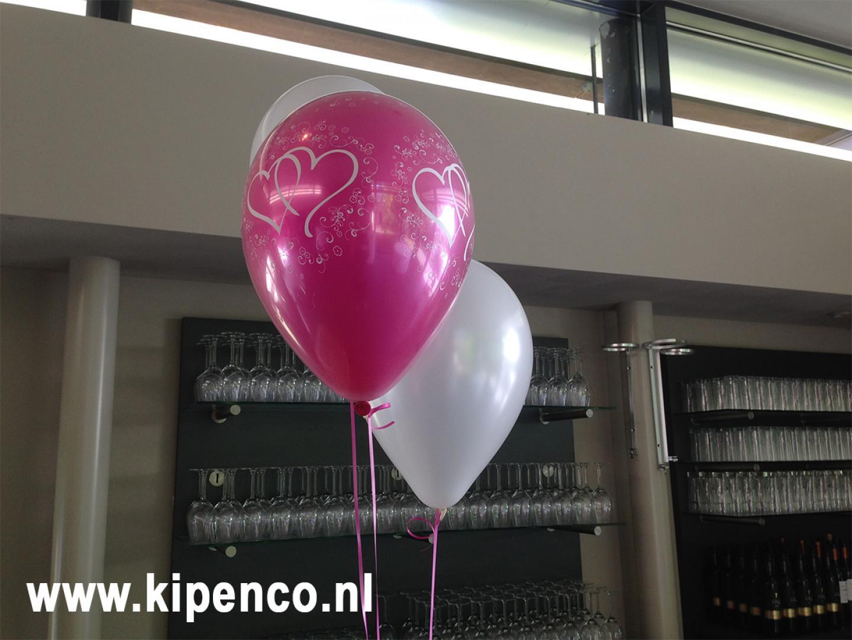 huwelijk bruiloft helium ballon