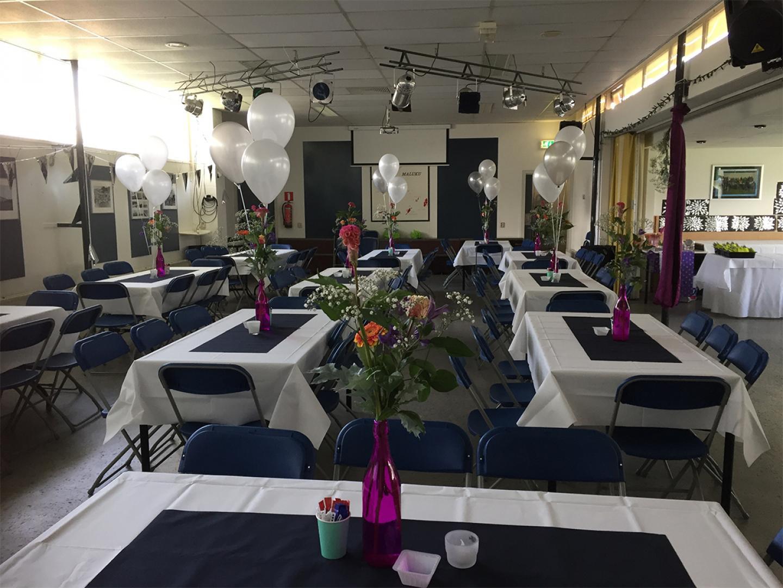 verjaardag ballonnen bruiloft tafel